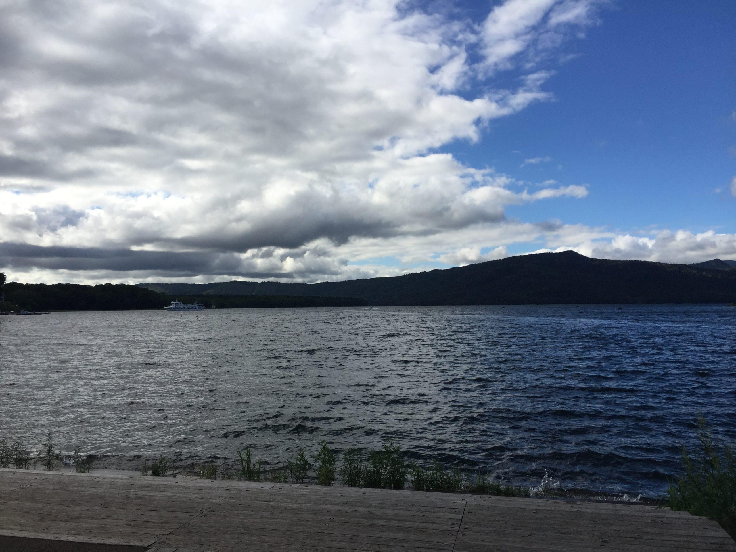 阿寒湖の風景